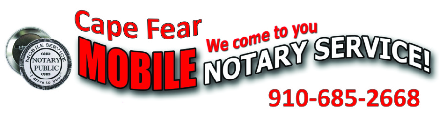 Cape Fear Mobile Notary