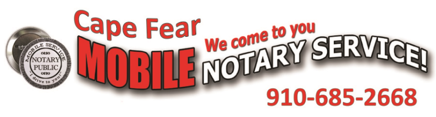 Cape Fear Mobile Notary We Provide Mobile Notary Services For Any And All  Legal Documents We